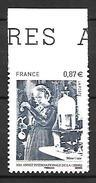 France 2011 - Yv N° 524 ** - Marie Curie - France