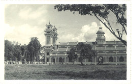 Cpa Carte-photo Cochinchine / Vietnam - Abbaye De Taï-Ninh, Fief Des Caodaïstes - Viêt-Nam