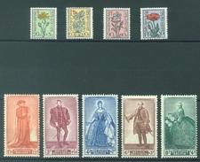 BELGIQUE - 1949 - MNH/***- LUXE - ANTITUBERCULEUX - COB 814-822 Lot 15090 - Belgium
