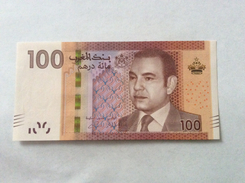 MOROCCO AL MAGHRIB 100 DIRHAMS UNC MOHAMED VI - Maroc