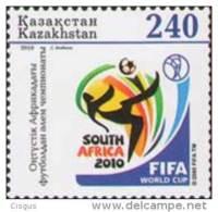 Kz 0676 Kazakhstan Kasachstan 2010 World Cup M