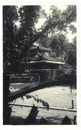 Cpa Carte-photo Cochinchine / Vietnam - Le Temple Du Souvenir Au Jardin Botanique - Viêt-Nam