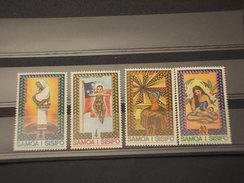 SAMOA - 1975 QUADRI NATALE  4 VALORI - NUOVI(++) - Samoa