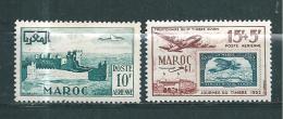 Colonie Francaise  Timbre Du Maroc PA  De 1951/52  N°83 Et 84  Neufs ** - Morocco (1891-1956)