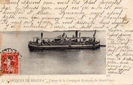 """Le """"JACQUES DE BRAZZA"""" Vapeur De La Compagnie Française Du Haut Congo - Other"""