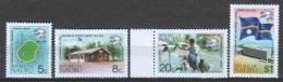 Nauru 1974 Mi 111-114 MNH UPU - UPU (Union Postale Universelle)