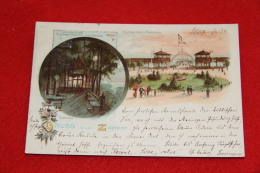 Polonia Sopot Zoppot Gruss Seesteg Kurgarden 1899 - Polen
