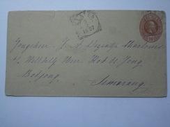 NETHERLANDS INDIES 1897 COVER KLATEN TO SEMARANG - Indie Olandesi