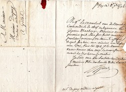 33  Ste FOY La GRANDE  Correspondance Convocation  1776 - Manuscrits