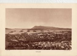 VAR, TOULON, , Animée, Bateaux Militaires En Rade, Planche Densité = 200g, Format: 20 X 29 Cm, (Marius Bar) - Historical Documents