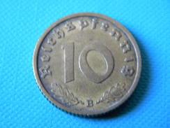 ALLEMAGNE - 10 REICHSPFENNIG 1939.B.