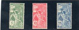 SUISSE 1900 * DENTELES A LA HERSE - 1882-1906 Wappen, Stehende Helvetia & UPU