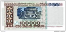 Belarus - Pick 15 - 100.000 (100000) Rublei 1996 - Unc - Bielorussia