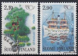 FINLANDIA 1991 Nº 1108/09 USADO - Finlandia