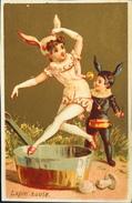 Chromo & Image Dorée - Lapin Sauté - En TB. état - Old Paper