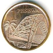 Ghana - 2007 - 1 Pesewa - KM 37 - Unc - Ghana