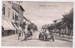 CPA - ITALIE - VIAREGGIO - Viale Ugo Soscolo - Viareggio