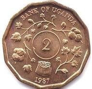 Uganda - 1987 - 2 Shillings - KM 28 - Unc - Uganda