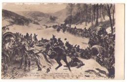 (Peintures Tableaux) 517 2, Salon De 1909, ND Phot 3631 Dt, R Arus, Epiloque De L'Armée De L'Est, L'Armée Se Retire En S - Peintures & Tableaux
