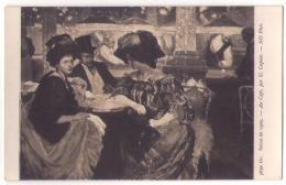 (Peintures Tableaux) 551 2, Salon De 1909, ND Phot 3690 Gr, U Caputo, Au Café, Couple De Femmes - Mujeres