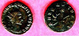 QUINTILLE ROME       ANTONINIEN LA PAIX        (C 56 RIC 26) TB  38 - 5. La Crisis Militar (235 / 284)