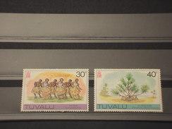 TUVALU - 1978 COSTUMI E PIANTE  2 VALORI - NUOVI(++) - Tuvalu
