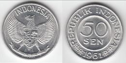 TOP QUALITY **** INDONESIE - INDONESIA - 50 SEN 1961 NATIONAL EMBLEM **** EN ACHAT IMMEDIAT - Indonesia