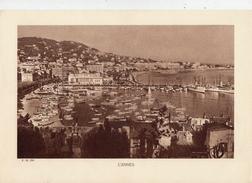 ALPES Mtmes, CANNES, Palais Des Festivals, Planche Densité = 200g, Format: 20 X 29 Cm, () - Documents Historiques