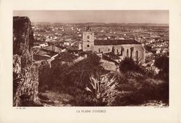 VAR, LA PLAINE D'HYERES, Planche Densité = 200g, Format: 20 X 29 Cm, (Léon Barra) - Documents Historiques
