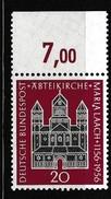 BRD 1956, Michel 238,  Postfrisch **, Abteikirche Maria Laach - [7] República Federal