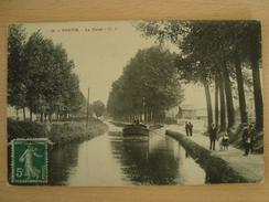 CPA 93 PANTIN Le Canal - G.F. - Pantin