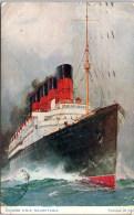 THEMES - BATEAUX PAQUEBOT - Le RMS MAURETANIA - Dampfer