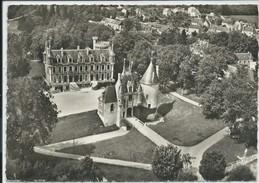 Saint-Florent-sur-Cher-En Avion Au-Dessus De...Le Château (Corne D'angle Haut à Gauche,voir Scan)-(CPSM) - Saint-Florent-sur-Cher