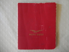 Libretto Moto Guzzi (Cartina Stradale D'Italia) - Libri, Riviste, Fumetti