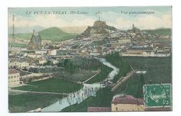 43/ HAUTE LOIRE...LE PUY En VELAY. Vue Panoramique.. Cliché Colorisé - Le Puy En Velay