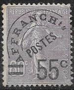 T 00666 - France 1920-22, Préo N° 47 Charnière Côte 70.00 €