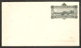 Hawaï Hawaii Enveloppe Cover Entier Postal 10c Noir 1884 TBE - Hawaii