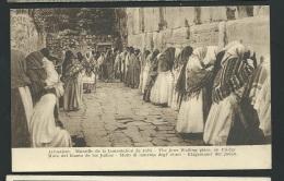 Jérusalem - Muraille De La Lamentation De Juifs   - Obf0417 - Palestine