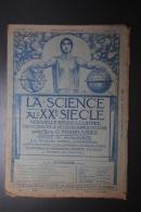 Revue Ancienne La Science Au XXème Siècle N°1 1ère Année 15 Mars 1903 - Sciences & Technique