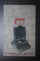 Publicité Ancienne Machine à écrire Japy - Advertising