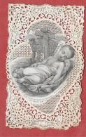 Image Pieuse ENFANT JESUS Et Les SAINTS CLOUS. Le SACRE COEUR - Lithographie BOUASSE LEBEL 827 -Holy Card, Santini, - Imágenes Religiosas