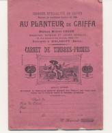 Ancien Carnet De Timbres-Primes Sans Date Au Planteur De Caïffa Plein - Timbres
