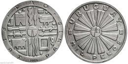 Uruguay - 1969 - 1000 Pesos - Silver(900) - KM 55 - XF - Uruguay
