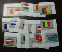 UNO NY Flaggen Satz 348 -63  Gestempelt Einzel   #4689 - Briefmarken