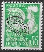 T 00200 - France 1960  Préo N° 122 Oblitéré Côte 20.00 €