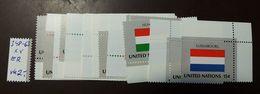 UNO NY Flaggen Satz 348 -63  ** MNH  Einzel   #4690 - Briefmarken