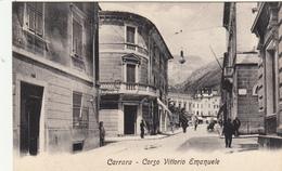 Carrara, Corso Vittorio Emanuele. Cartolina Non Viaggiata Anni 30 - Carrara