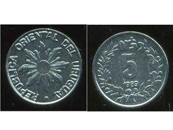 Uruguay - 1989 - 5 Nuevos Pesos - KM 92 - Unc - Uruguay