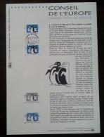 COLLECTION HISTORIQUE - YT Service N°122, 123 - CONSEIL DE L'EUROPE - 2001 - 2000-2009