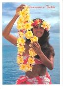 TAHITI...JEUNE FILLE AUX FLEURS...**PHOTO SYLVAIN** - Tahiti
